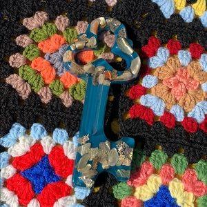Vintage 70s Resin California Seashell Key